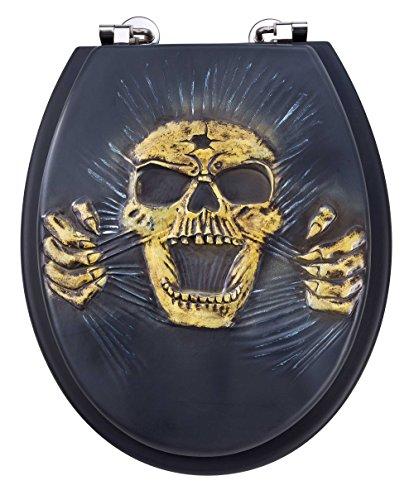 EISL EDSK01 Polyresin WC-Sitz Skull