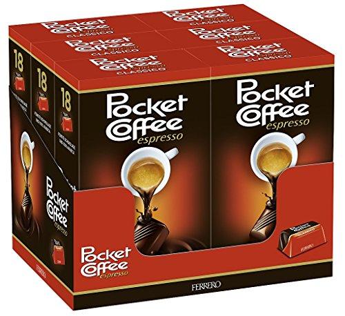 Pocket Coffee , 6er Pack (6 x 225 g Packung)