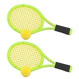 Foxom Badminton Tenis Frontenis Raquetas Niños Deportes Juguete para Exterior Ejercicio Juego, 43*19CM