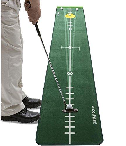 Best Music Posters Track Putting Matte Edition 300cm 50cm Golf Putting Grün Realistische Silikon Putting-Cup