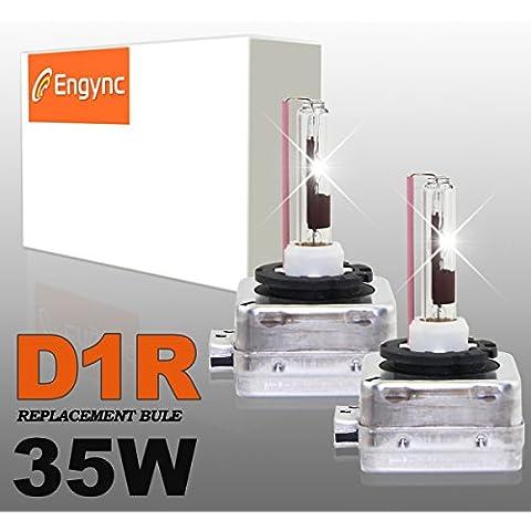 Engync® D1R OEM xenón HID bombillas de los faros (Pack de 2) | Alta / Baja color de oro amarillo (3000K)