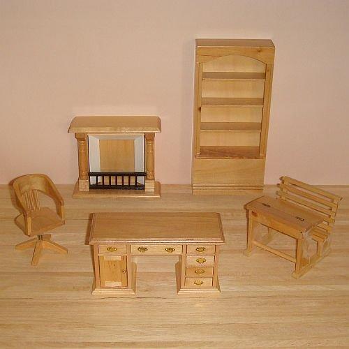 meuble-pour-maisons-de-poupees-miniature-bureau