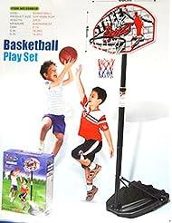 Generic dyhp-a10-code-4132-class-1-- Portabl Free Standing Ding Set calle pelota ll po ajustable altura P jugar al baloncesto Net T BAS aro Play capaz de he–-dyhp-uk10–160819–1949