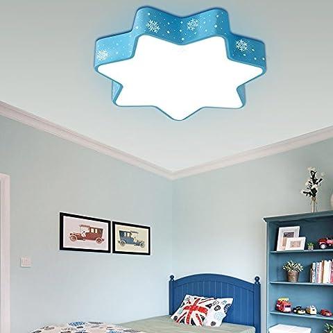 CHJK BRIHT Moderno e di stile Cartoon occhio Camere da Letto bambino luce a soffitto le piccole bambine Creative Snowflake ,380MM lampade