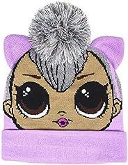 Characters Cartoons - Bambino Bambina - Cappello Berretto Invernale in Maglia - 44 Gatti Bing Baby Shark LOL S