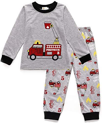 43d3a17767 Tarkis Jungen Pyjama Schlafanzüge Lange Zweiteiliger Schlafanzug, 1, 92  (Herstellergröße: 90)
