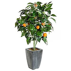 Arbre Fruitier Artificiel oranges - Oranger - Plante artificielle - 51 cm