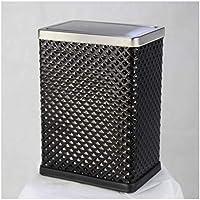 Cubos de Basura Hogar Creativo Casa Simple Bote de Basura Plegable con Tapa - JBP12,