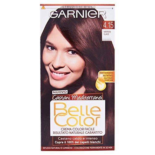 Hair Dye Color Brown Beautiful Mediterranean 4.15 Marron Clace
