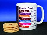 Novelty MUG ≈ BISCUIT DUNKING GUIDE ≈ A fun gift for any rich tea digestive custard cream bourbon nice biscuits lover and ideal for any father, son, husband, daughter, wife, or mother - perfect mothers or fathers day christmas or birthday gift ≈ listing category: tea coffee mug mugs cup cups gift gifts present presents fun funny novelty