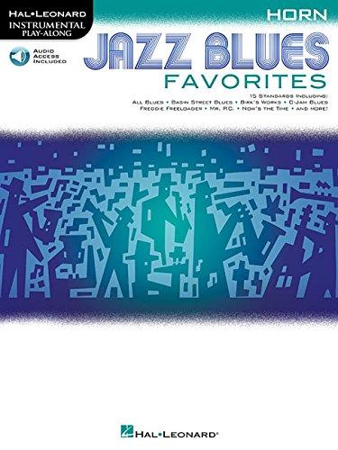 Instrumental Play-Along Jazz Blues Favorites -Horn Book & Audio Online-: Noten, E-Bundle, Download (Audio) (Hal-leonard Instrumental Play-along)