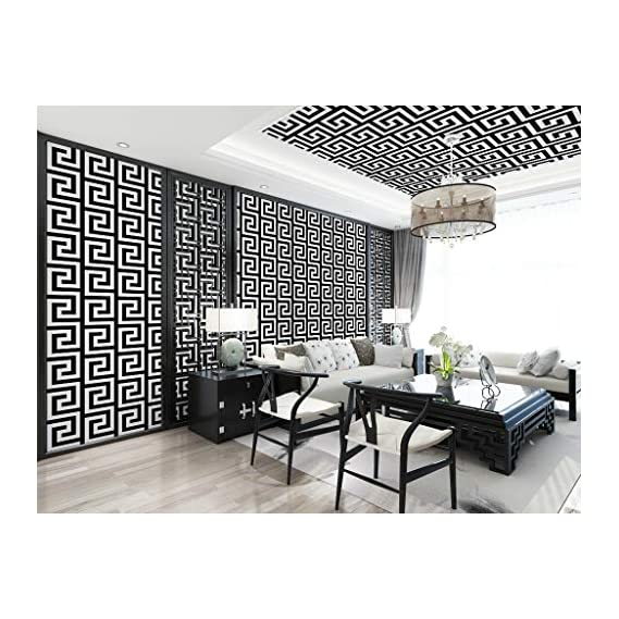 Luke and Lilly Self Adhesive Wallpaper/Wall Sticker with Water Proof - Allover Design (45cm X 500cm)