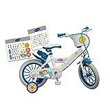 Guizmax Bicicleta Unicornio 14 Pulgadas Personalizable 4 a 6 Ans Nuevo