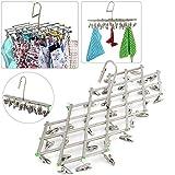 Yahee Mini-Wäschespinne Wäschespinne inkl. 35 Klammern Camping Wäschespinne bis 5 kg