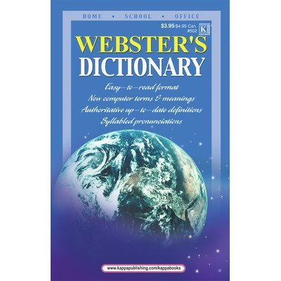Webster 's Dictionary [Set von 3]