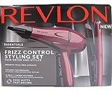 Revlon Frizz 210 Degree 2000 Watts Control Hair Dryer and Ceramic Styler Set