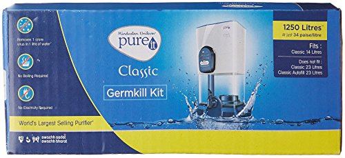 HUL Pureit Classic GBDS100 1250-Litres Germ Kill Kit Cartridge