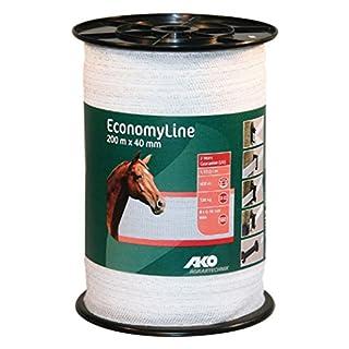 AKO Electric Fence: Economy Line Tape 20mm x 200m