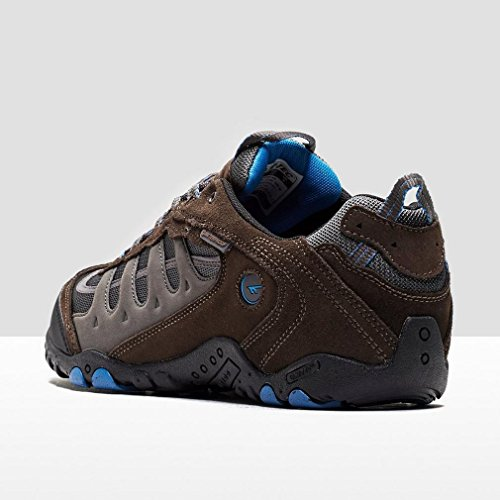 Hi-Tec Penrith Low Waterproof, Chaussures de Randonnée Basses Homme brown