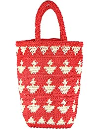 Craftter Bee Multi Purpose Bag - Crosso Bag - Grocery Bag - Hand Made (Multi Color) - Assorted Colors And Patterns...