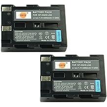 DSTE® 2x D-LI50 Li-ion Batería para Pentax K10, K10D, K10D GP, K10D Grand Prix, K20D and Compatible with Konica Minolta NP-400, a Sweet DIGITAL, a-5 Digital, a-7 Digital, DiMAGE A2, Dynax 5D, Dynax 7D, Maxxum 5D, Maxxum 7D, Minolta Dimage A1, Samsung SLB-1674, GX-10, GX-20, Sigma BP-21, SD1, SD1 Merrill, SD14, SD15