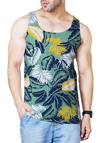Veirdo Men's Cotton T-shirt (Multicolour, Medium)
