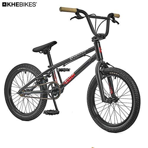 KHE BMX Fahrrad Blaze SE 18 Zoll schwarz patentierter Affix 360° Rotor nur 10,2kg!