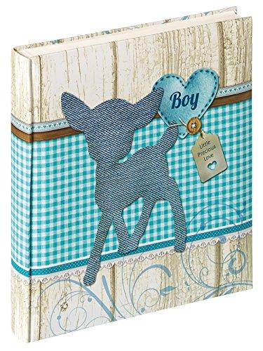 Walther UK-140-L Album de naissance  Dinky Boy, 28 x 30,5 cm, bleu