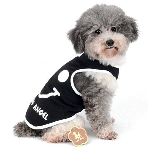 rts niedliches Sommer-Weste Smiling Angel Pet Kleidung für kleine Hunde (Hund Angel Kostüme)