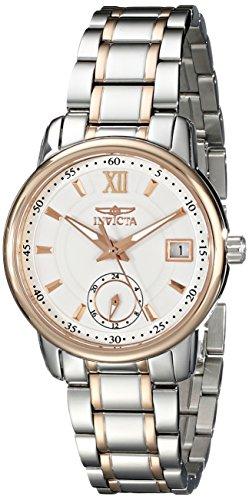 Invicta Women's 18012 Specialty Analog Display Swiss Quartz Two Tone Watch