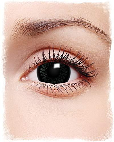 ppenaugen Kontaktlinsen schwarz ()