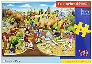 Castor País B de 070046Dinosaur Park, 70Piezas Puzzle