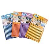 Rventric Drain Clog Cleaner Sticks4 Pack, Reinigungsstangen Für Waschbecken/Wannen / Bodenabläufe/Dekontamination / Entsorgung Von Küchenabfällen