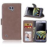 BONROY® Tasche Hülle für Handyhülle für LG X Cam K580