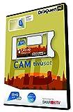Digiquest Bundle Cam Tivusat oro - di ultima generazione (CI+ GOLD) compatibile anche con i nuovi TV Android
