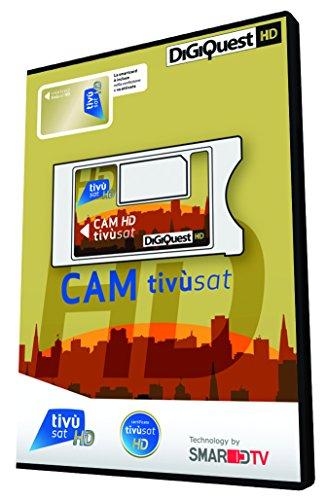 Digiquest Bundle Cam Tivusat oro - di ultima generazione (CI+ GOLD) compatibile anche con i nuovi TV Andro