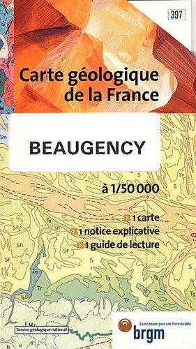 Carte géologique : Beaugency