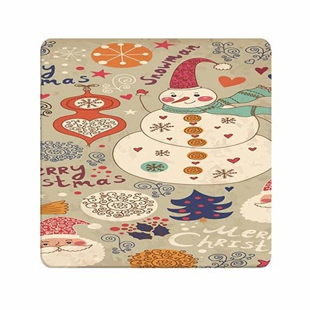 Customised Drawing Christmas Beautiful Soft Silicone Mousepad