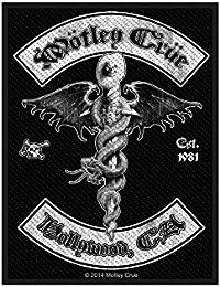Motley Crue parche–Hollywood–Motley Crue Patch–tejida & licencia oficial..