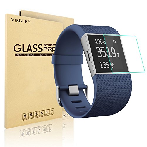nextany-tempered-glass-screen-protector-guard-for-fitbit-surge-fitness-lifetime-warranty-retail-pack