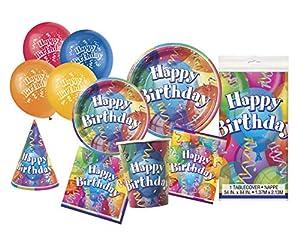 Unique Party- Party Kit, Multicolor (63812)