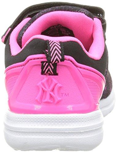 MLB Baphomet Kid Ev Unisex-Kinder Sneaker Schwarz - Noir (Black/Fluo Pink)