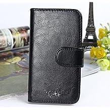 """Prevoa ® 丨 Original Flip PU Cover Funda para iNew V3 / iNew V3 Plus / iNew V3 + 5.0"""" Smartphone - - 5"""