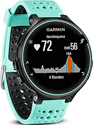 Garmin Forerunner 235 GPS Running Watch with Elevate Wrist Heart Rate and Smart Notifications - Black/Grey by Garmin