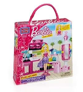 Megabloks - 80212 - Jeu de Construction - Barbie - La Marchande de Crèmes Glacées
