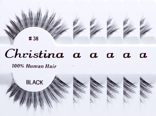 6packs Eyelashes - #38 (Same factory & production line as Red Cherry) by Christina
