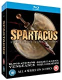 Spartacus: The Complete Collection [Blu-ray] [Reino Unido]