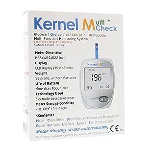 Multicheck glucose cholesterol meter 1st