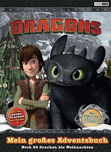 Produktbild bei Amazon - Dragons: Mein großes Adventsbuch: Noch 24 Drachen bis Weihnachten