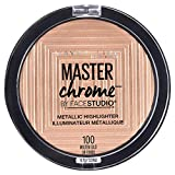 MAYBELLINE FaceStudio Master Chrome Metallic Highlighter - Molten Gold Or Fondu